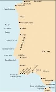Bilde av C19: Cabo Finisterre to Gibraltar