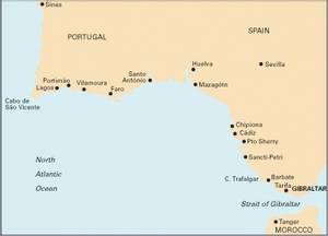 Bilde av C50: Sines to Gibraltar