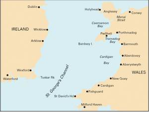 Bilde av C61: St Georges Channel - Wales to the East Coast of Ireland