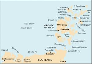 Bilde av C68: Cape Wrath to Wich and the Orkney Islands