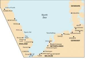 Bilde av C70: Southern North Sea Passage Chart
