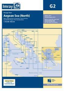 Bilde av G2: Aeagean Sea (north Partf) - Passage Chart