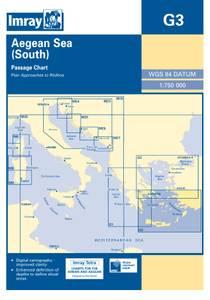 Bilde av G3: Aegean Sea - South Part Passage Chart
