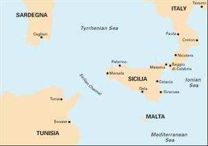 Bilde av M50: Sardegna to Ionian Sea
