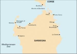 Bilde av M8: North Sardegna