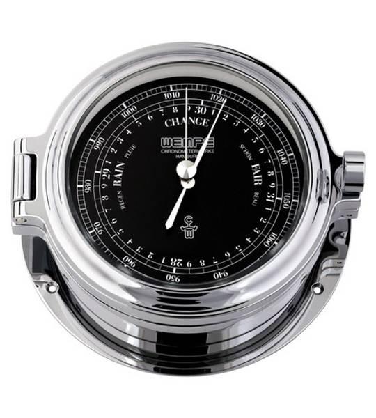 Wempe Regatta: Barometer - chrome