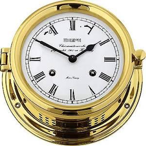 Bilde av Wempe Admiral II: Skipsklokke mekanisk ur med glass - messing
