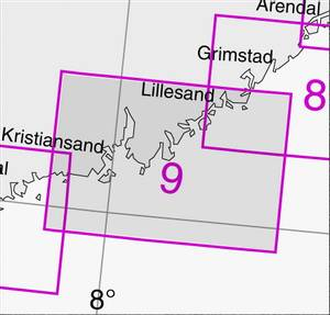 Bilde av 9: Lillesand  -  Ny-Hellesund