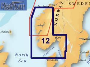 Bilde av Navionics Platinum+ XL3 Norway South West - 12P