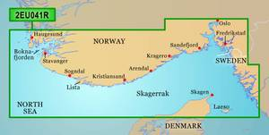 Bilde av Bluechart G3 Vision Regular: Oslo - Skagerak - Haugesund (VEU041
