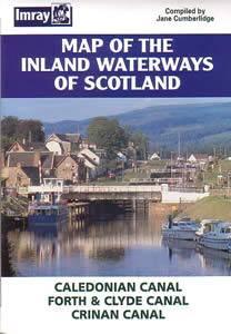 Bilde av Map of the Inland Waterways of Scotland