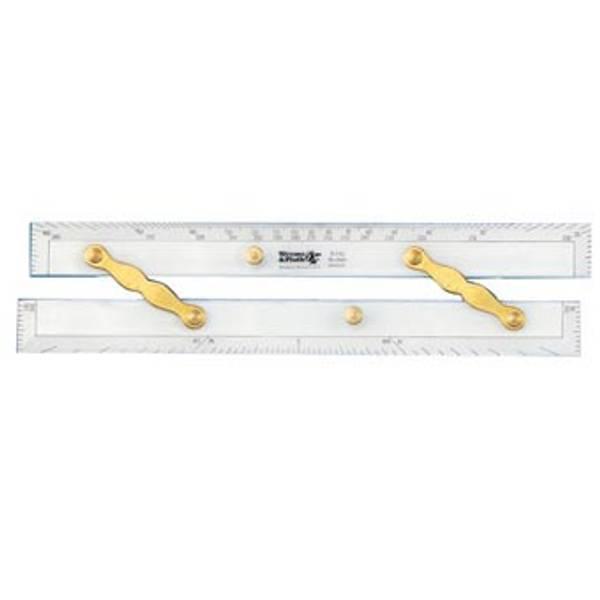 Parallellinjal (parallel ruler) 15