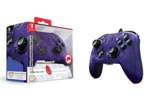 Bilde av Faceoff Deluxe+ Audio Wired Controller - Purple