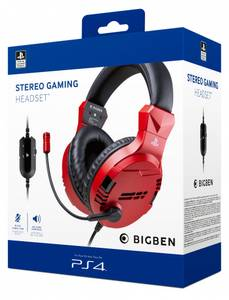 Bilde av PS4/PS5 Gaming Headset V3 Red Sony licensed
