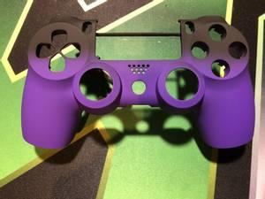 Bilde av Ps4 Soft Touch Shadow Deep purple Front Shell
