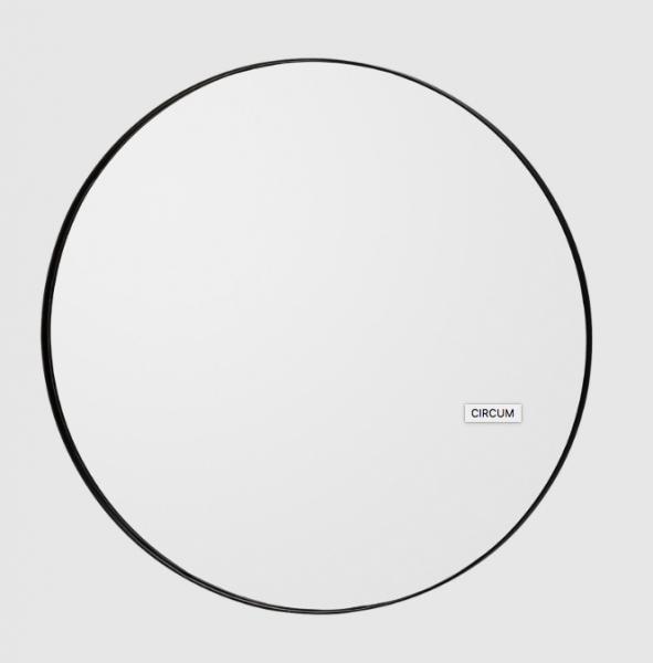 Bilde av Aytm circum round mirror Black. small, medium or large