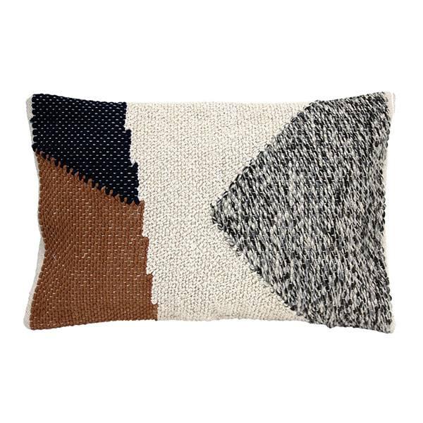 Bilde av HK-living cushion knotted autumn multicolour, 40x60