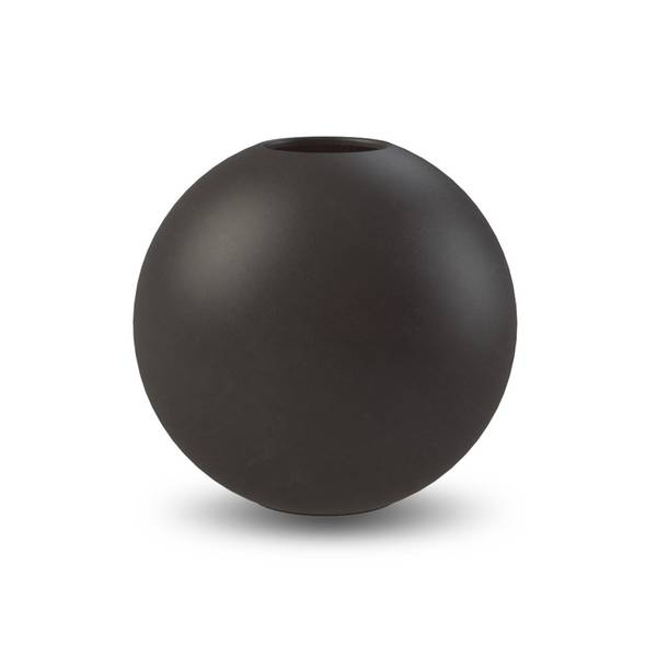 Bilde av Cooee ball vase 20cm, sort