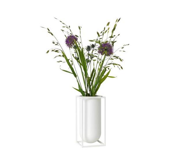 Bilde av By Lassen kubus vase lolo, hvit