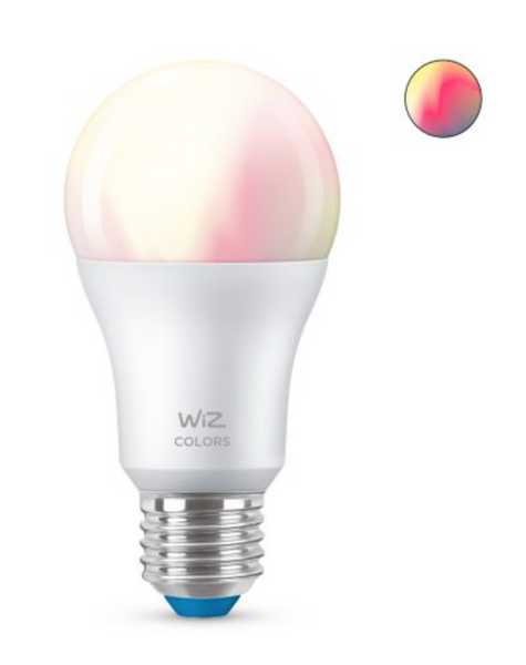 Bilde av Wiz Wi-Fi BLE Color/8.5W A60 E27 12/1PF