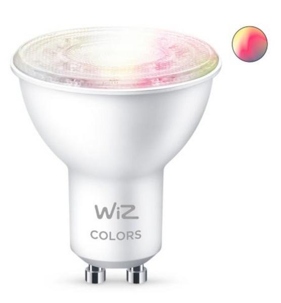 Bilde av Wiz Wi-Fi BLE Color/4.8W GU10 12/1PF
