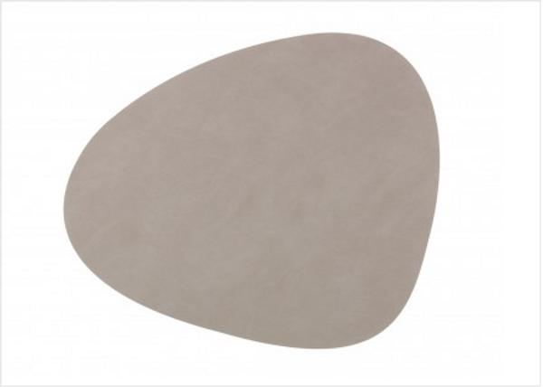 Bilde av Curve L Bordbrikke nupo 37x44, light grey