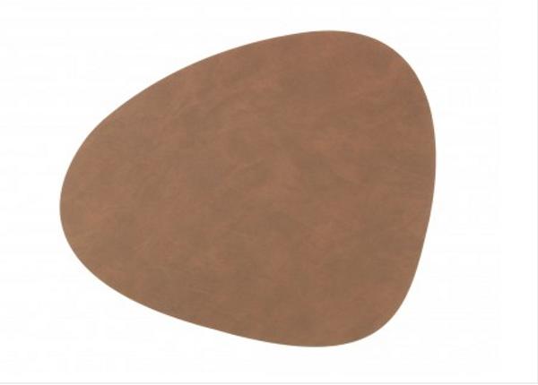Bilde av Curve L Bordbrikke nupo 37x44, brown