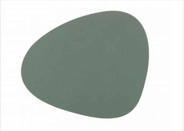 Bilde av Curve L Bordbrikke nupo 37x44, pastel green