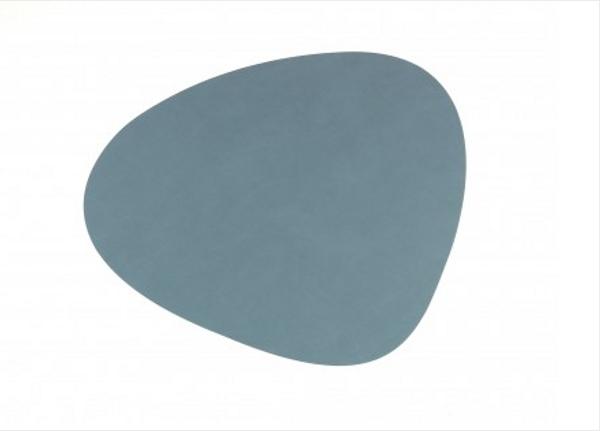 Bilde av Curve L Bordbrikke nupo 37x44, light blue