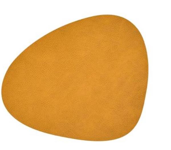 Bilde av Curve L Bordbrikke hippo 37x44, curry