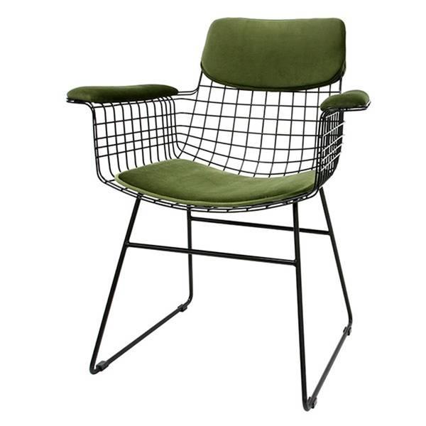 Bilde av HK Living Komfort kit til wire stol fløyel
