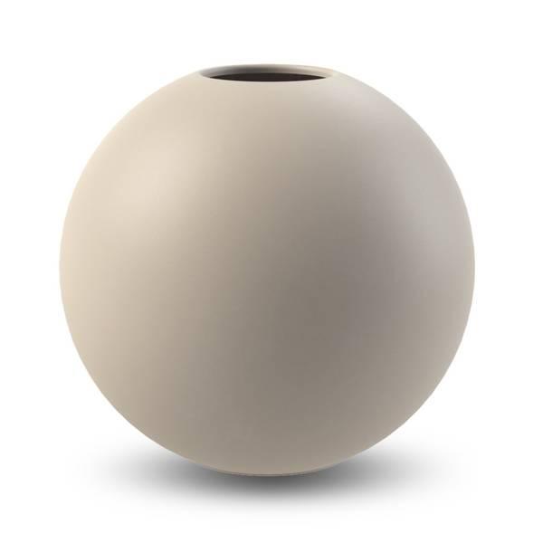 Bilde av Cooee Ball vase 30cm, sand