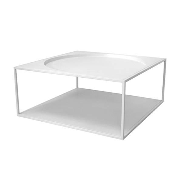 Bilde av Coffee table matt hvit