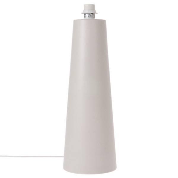 Bilde av HK Living Cone lampe matt lysgrå