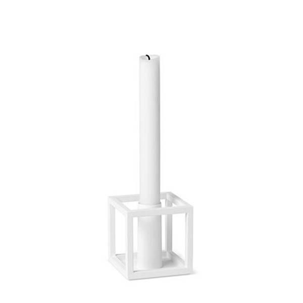 Bilde av By lassen kubus 1 candleholder, hvit
