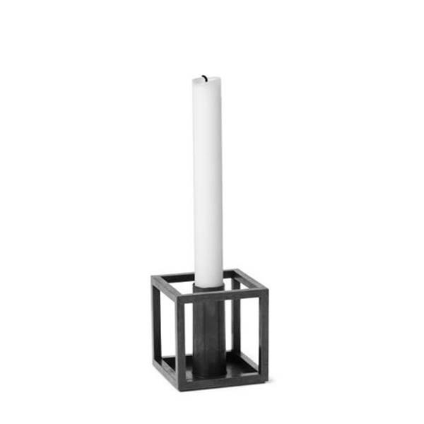 Bilde av By lassen kubus 1 candleholder, burnished kobber