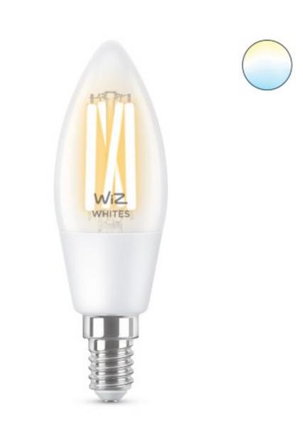 Bilde av Wiz Wi-Fi TW/4.9W C35 CL 927-65 E14 6/1PF Mignon