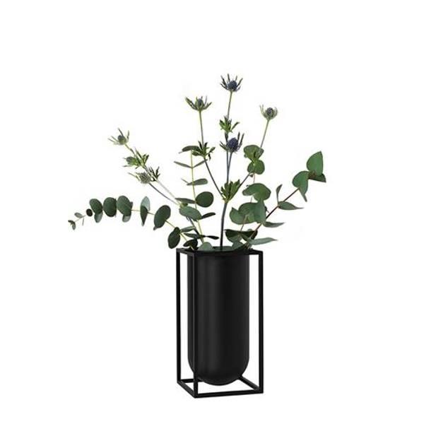 Bilde av By lassen kubus vase lolo, sort