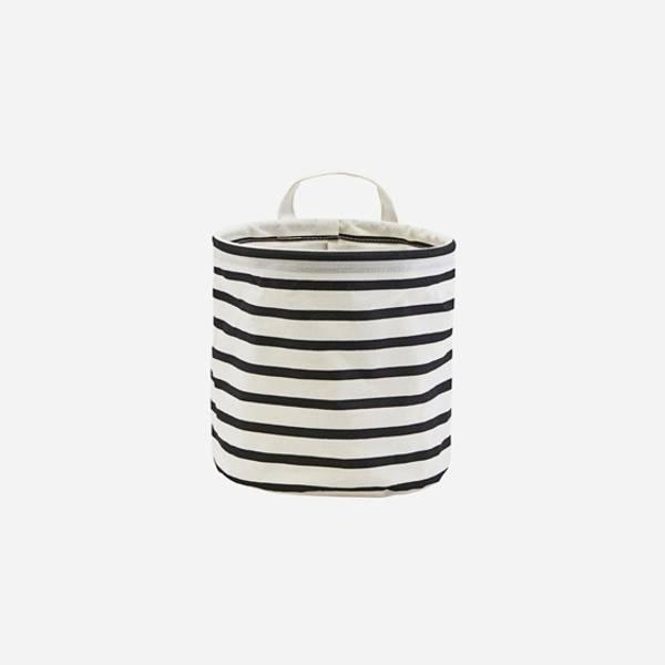 Bilde av Storage stripes, black/white 20cm