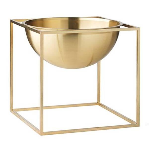 Bilde av By lassen kubus bowl large, brass