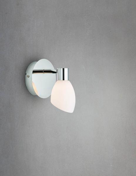 Bilde av Cut spot LED krom/hvit