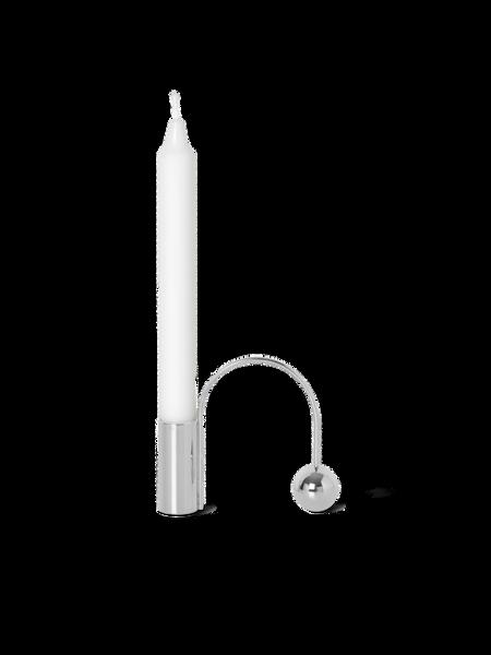 Bilde av Ferm Living Balance Candle Holder Chrome