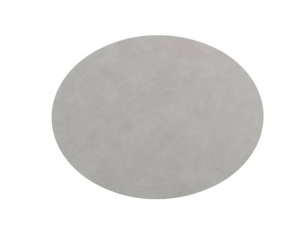 Bilde av Bordbrikke 35x46 oval L nupo light grey