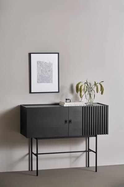 Bilde av Array sidebord 120 cm, black painted oak