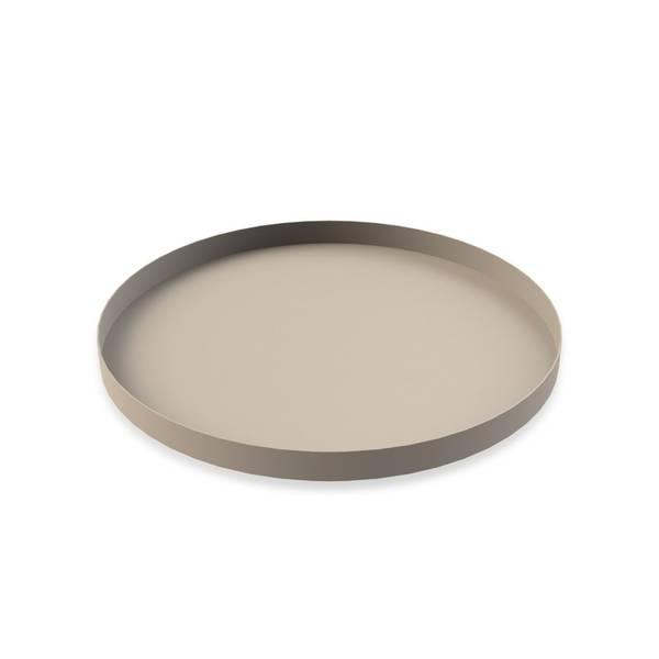 Bilde av Cooee tray circle 40cm, sand
