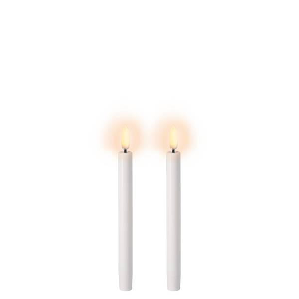 Bilde av Uyuni- Led mini Taper candle-2pk ø1,3x13cm