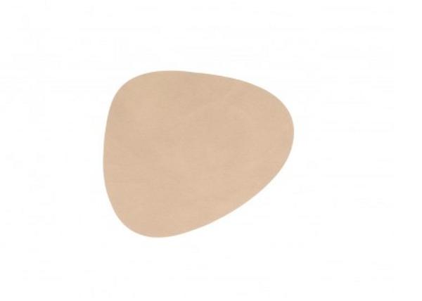 Bilde av glass mat curve 11x13cm nupo sand