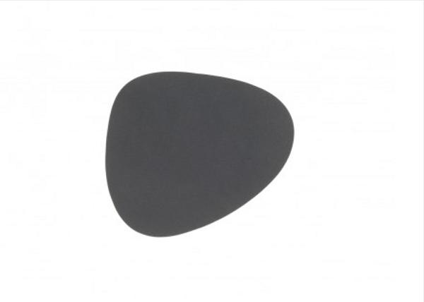 Bilde av glass mat curve 11x13cm nupo anthracite