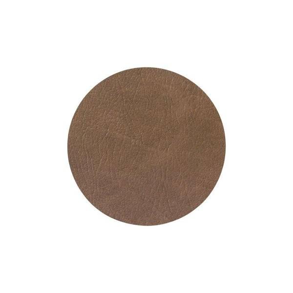 Bilde av glass mat circle Cloud - Brown D:10cm