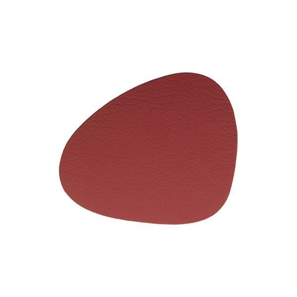 Bilde av Glass mat curve 11x13 bull red